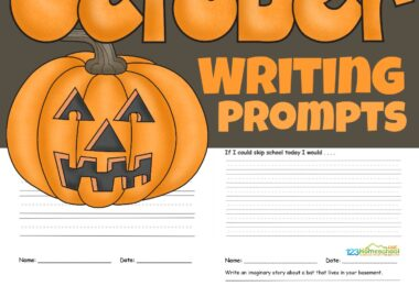 If you are looking for some fun ideas to get your child writing more, I've got you covered. These free printableOctober writing promptsare just what you've been looking for to keep your first grade, 2nd grade, 3rd grade, and 4th grade child happily writing all month long. EachOctober creative writing prompts includes a cute clipart to color, a story starter, and ruled lines to guide students.