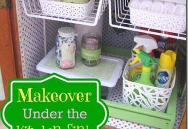 Under the Sink Kitchen Makeover