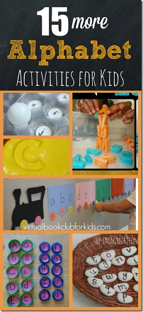 Make learning the alphabet fun with these 15 hands on Alphabet Activities for preschool and kindergarten kids.