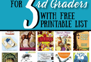 Are you working on picking books for 3rd graders? Let me help you pick 3rd grade reading books that are engaging to kids and filled with rich vocabulary and story lines. Instead of spending hours at the library or searching through books on Amazon, check out these fun-to-read Books for Third Graders. Simply download pdf file with printable 3rd grade reading list and you are ready to help your third grader love reading!
