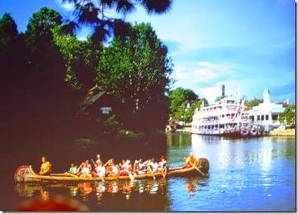 davy crocket canoes closed at disney world