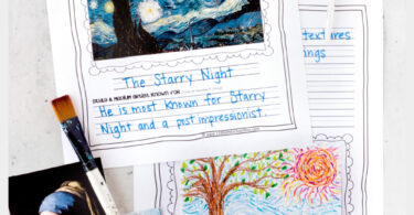 Are you teaching your children about famous artists for kids? Helping kids learn to appreciate art and different techniques is such a great activity. Whether you are studying monet, van gogh, picasso, mondrian, or one of the other many popular artists - these artist report pages are a great way for kids to remember what they learn. Use these famous artists worksheets with kindergarten, first graders, 2nd graders, 3rd graders, 4th grader, 5th graders, 6th graders, 7th graders, and 8th graders. Simply download pdf file with artist report template and you are ready to create and learn!