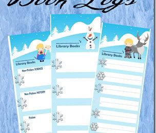 FREE Frozen Reading Logs