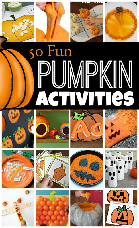 Celebrate it is pumpkin season with these fun, creative and unique pumpkin activities perfect for October. These pumpkin activities for kids include pumpkin games, pumpkin science, a few pumpkin crafts, and LOTS of fun pumpkin activities for kids from toddler, preschool, pre k, kindergarten, first grade, 2nd grade, and 3rd grade students.