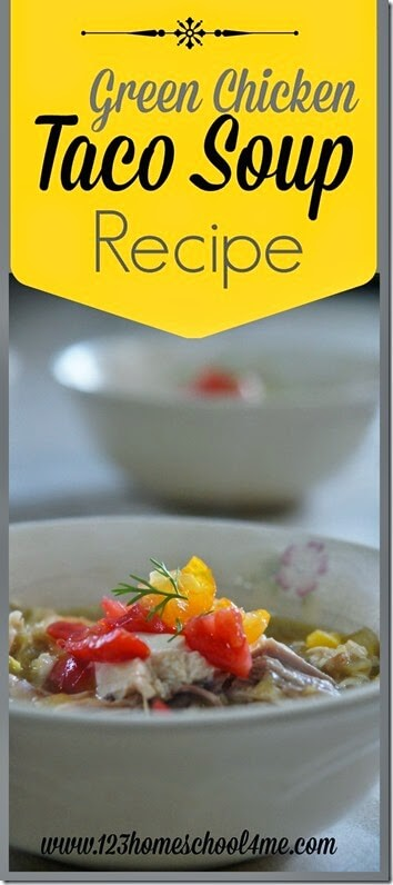 Green Chicken Taco Soup Recipe