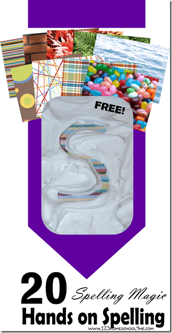 Spelling Magic - Hands on ALPHABET, CVC Words, or Spelling Activities for Kids with free backgrounds to make this tactile spelling activity extra fun (homeschool, kindergarten, first grade, 2nd grade, 3rd grade)
