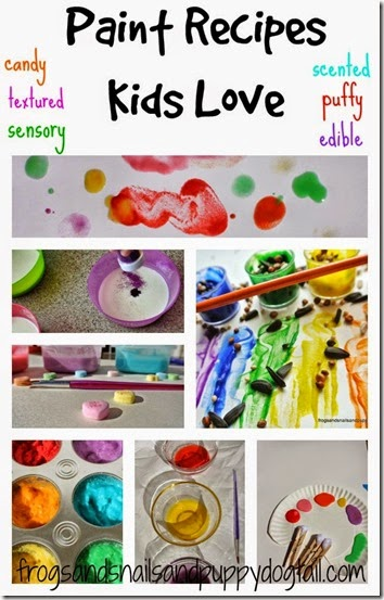 18 paint recipes for kids #paint #play #preschool #kindergarten