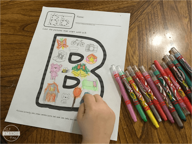 phonics coloring pages