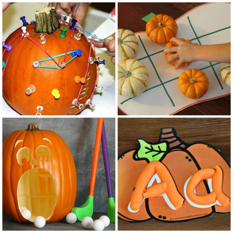 pumpkin activities for October