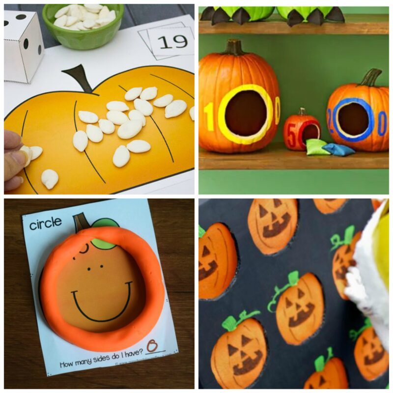 pumpkin activities for kindergarteners