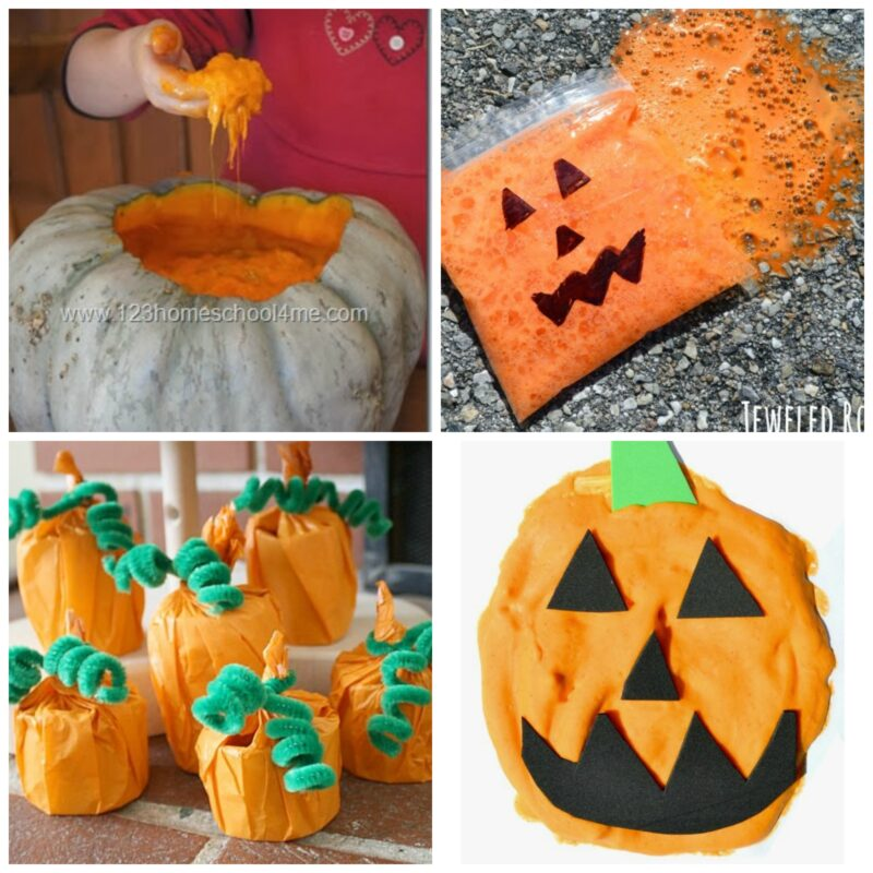 lots of silly , fun pumpkin activities for toddlers