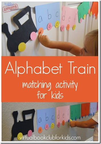 Alphabet Train #alphabet #preschool