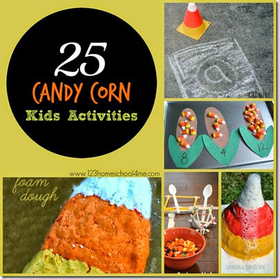Candy Corn Kids ACtivities #fall #kidsactivities #play #preschool