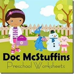 FREE Doc McStuffins Printables (Preschool - 2nd Grade) #disneykids #disneyjunior #preschool #kindergarten