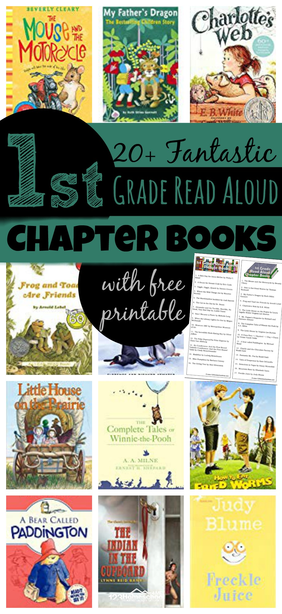 First Grade Read Aloud Chapter Books