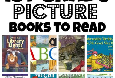 Looking for some really great books to read aloud that your 1st grader will love? We have a free printable first grade read alouds picture books you must read with your child while they are in grade 1.