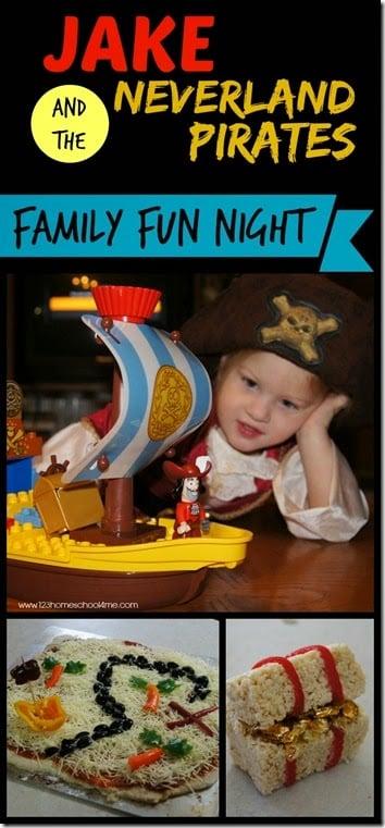 Jake and the Neverland Pirates Family Fun Night