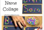 Learn Your Name with Straws