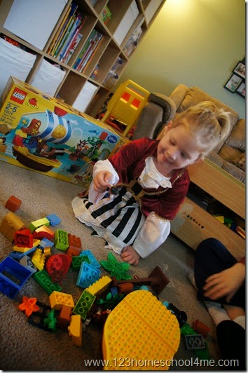 LEGO® DUPLO® Jake and the Neverland Pirates Set is fun and easy to build