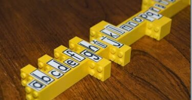 Spelling Practice with Lego