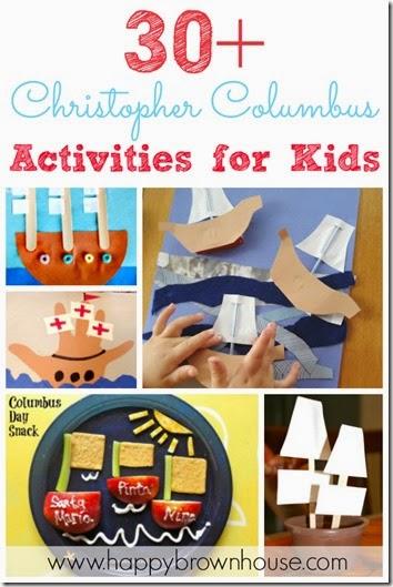 30 Christopher Columbus Activities for Kids #preschool #kidsactiviites #craftsforkids #preschool #homeschool #education