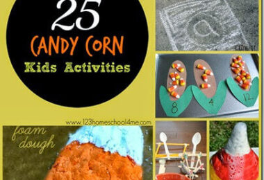 Candy Corn Activities for Kids