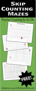 FREE-Skip-Counting-Mazes