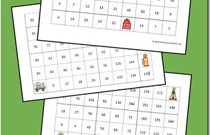 FREE-Skip-Counting-Mazes