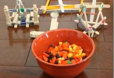 Candy Corn Catapults