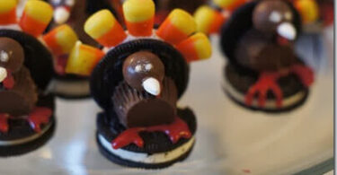 Cute Turkey Snack for Kids