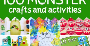 Monsters don't have to be scary, in fact these monster crafts and activities are all totally friendly and super fun! So many cute monster craft ideas for toddlers, preschoolers, prek, kindergartners, grade 1, and grade 2 students. Use these with a monster theme, weekly them, for Halloween, or as a fun educational book extension.