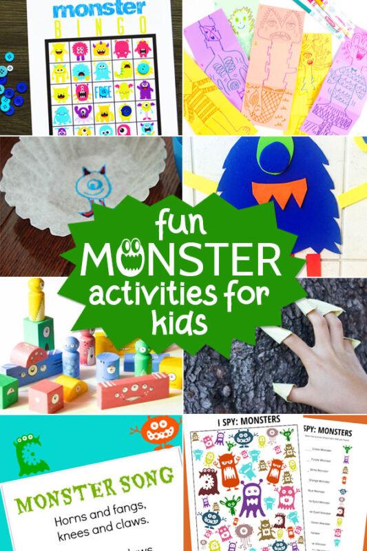 Fun Monster Activities
