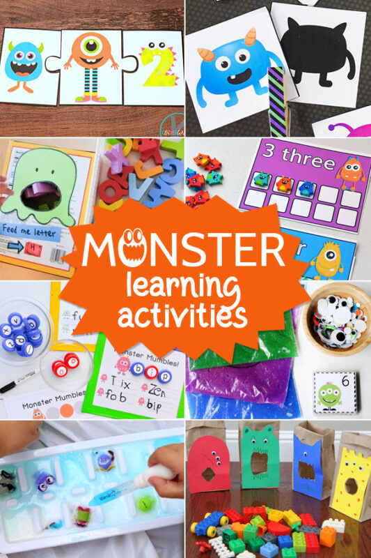 Monster Learning Activities