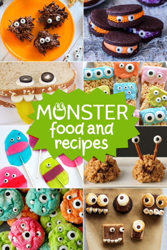 Monster Snacks and Recipes