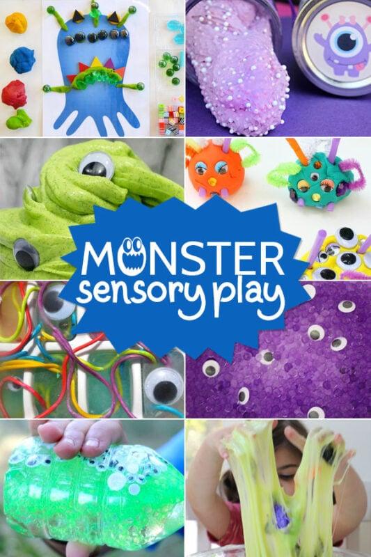 Monster Sensory Play Activities