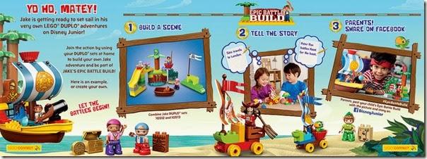 LEGO® Epic Battle Build!