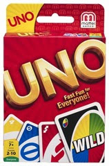 uno classic card game for families