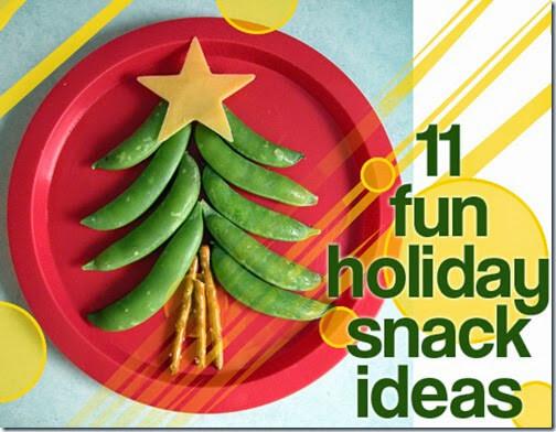 11 Christmas Snacks for Kids #christmas #snacksforkids