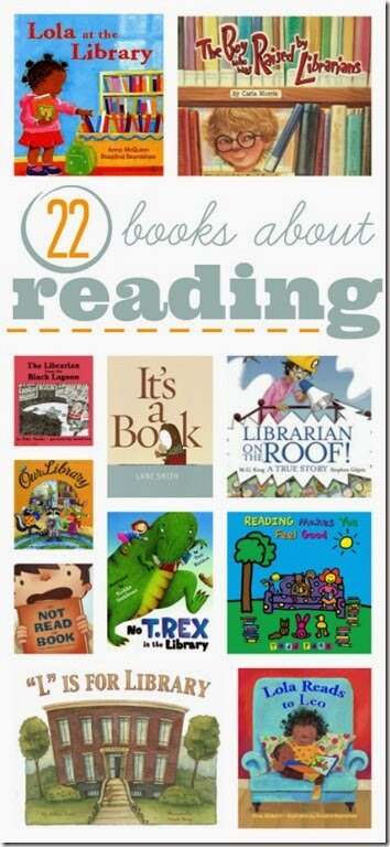 22 picture books about reading
