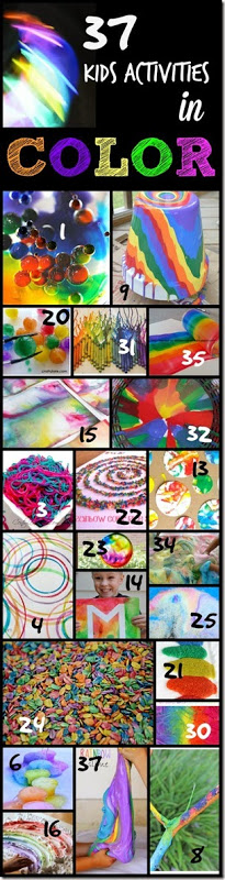 37 Kids Activities in COLOR #kidsactivities #preschool #kindergarten