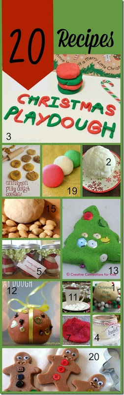 Whip up a special batch of aChristmas playdough recipe to celebrate the holiday season in December! We have more than 20 creative, unique, and FUN Christmas Play doh Recipes for Kids! Whether you try the candy cane playdough, cookie playdough, gingerbread playdough, snowball playdough, or one of the many other fun-to-try playdough recipes for kids - these are sure to make strengthening hand muscles for toddler, preschool, pre-k, kindergarten, and first grade students extra fun!
