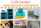 Clever Wipe Container Hacks