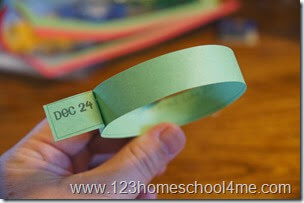 Luke 2 Scripture Paper Chain for Families