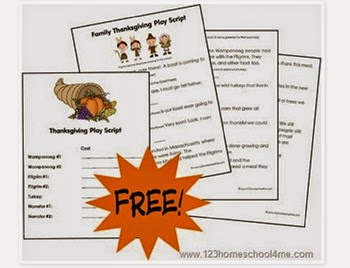 Thanksgiving play for families
