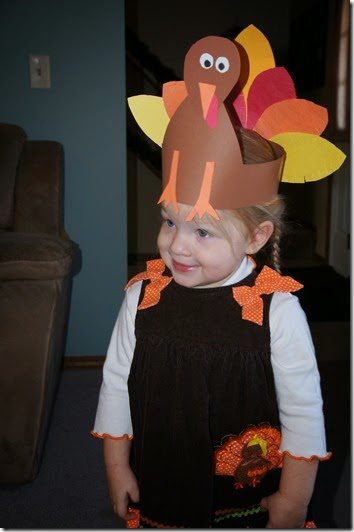 Turkey Craft for Preschoolers
