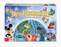 Disney Board game - eye found it