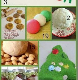 Christmas Playdough Recipes