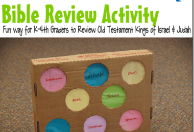 Old Testament Kings Bible Review Game