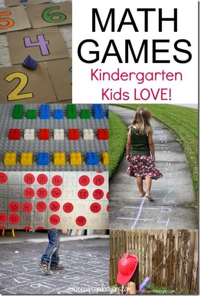 kindergarten math games #kindergarten #math #homeschool