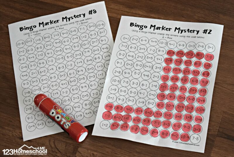 picture about Quick Solve Mysteries Printable called Remedy and Stamp Xmas Math Worksheets 123 Homeschool 4 Me